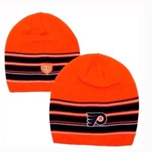 Other - Old time hockey Philadelphia flyers beanie